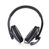 Casque pour PC | Tour d'oreille | Microphone | Connecteur 3,5 mm Double