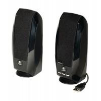 Haut-parleurs 2.0 Filaire 3.5 mm 1 W Noir