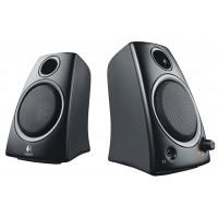 Haut-parleurs 2.0 Filaire 3.5 mm 5 W Noir
