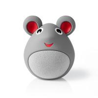 Enceinte Bluetooth Animaticks   3 heures d'autonomie   Appels en mode mains libres   Melody Mouse