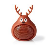 Enceinte Bluetooth Animaticks | 3 heures d'autonomie | Appels en mode mains libres | Rudy Reindeer