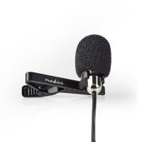 Microphone Filaire   À Clip   Micro-Cravate   3,5 mm   Métal