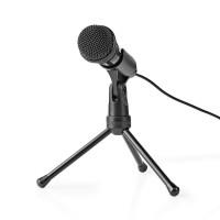 Microphone Filaire   Bouton Marche/Arrêt   Avec Tripod   3,5 mm