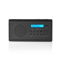 Radio DAB+ | 3 W | FM | Fonction Montre et Alarme | Noir