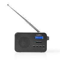 Radio DAB+ | 3,6 W | FM | Fonction Horloge et Alarme | Noir