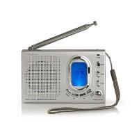Radio FM | 1,5 W | Récepteur International | Alarme | Gris