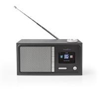 Radio Internet   18 W   FM   Bluetooth®   Télécommande   Noire