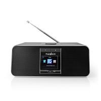 Radio Internet   42 W   DAB+   FM   Bluetooth®   Télécommande   Argent/Noire