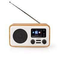 Radio Internet   DAB+/FM / Bluetooth®   Télécommande   Blanc/Bois