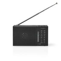 Radio FM/AM | 1,5 W | Format de Poche | Noire