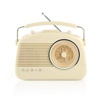 Radio FM   4,5 W   Poignée de Transport   Ivoire