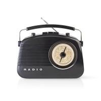 Radio FM   4,5 W   Poignée de Transport   Noir