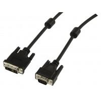 DVI-A-VGA câble 10.0 m