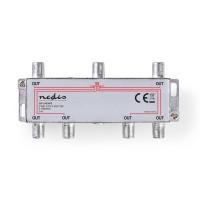 Répartiteur F CATV | Atténuation Max. de 10 dB | 5 - 1 000 MHz | 6 Sorties