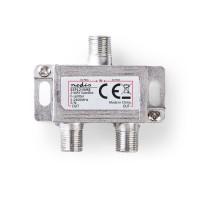 Répartiteur F Satellite | Atténuation Max. de 6,5 dB | 5 - 2 400 MHz | 2 Sorties