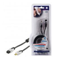 Haute qualité FireWire IEEE1394b cable de connection 1.50 m