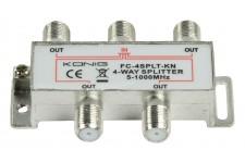 4- façon CATV F - séparateur
