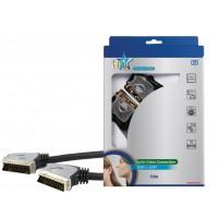 Câble SCART de haute qualité de 10 m