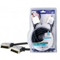 Câble péritel haute qualité 5,00 m