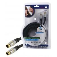 Câble S-VHS haute qualité 5,00 m