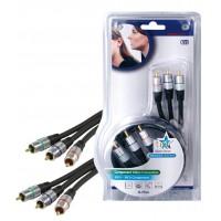 Haute qualité Câble vidéo composante15,0 m
