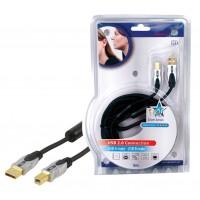 Haute qualité USB 2.0 cable de connection 5.00 m