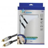 Haute qualité RCA câble connexion vidéo 15.0 m