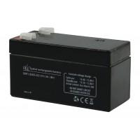 Batterie au plomb 12 V - 1,3 Ah.