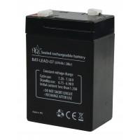 Batterie au plomb acide 6V/4Ah
