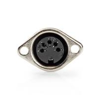 Connecteur DIN | Femelle à 5 Broches | 25 pièces | Noir