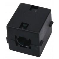 Ferrite filtre à interferences pour cables jusqu'à 12 mm