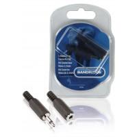 Kit connecteur audio 3.5 mm Noir