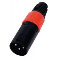 connecteur mâle XLR 3p