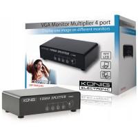 4-splitter port VGA