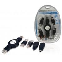 Câble USB 2.0 rétractable
