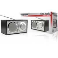 Radio AM/FM de table rétro