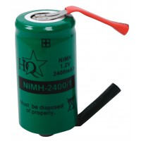 Pack accus NiMH 1.2 V 2400 mAh