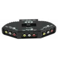 3-voies audio / sélecteur vidéo