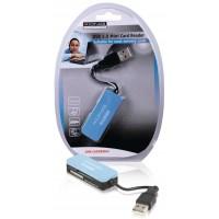 Mini lecteur de cartes USB 2.0
