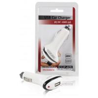 Chargeur USB universel pour voiture 12 - 24 V DC / 5 V DC-1000 mAh.