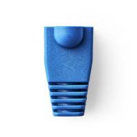 Manchon | Pour Connecteurs Réseau RJ45 - 10 pièces | Bleu