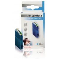 Cartouche bleue pour imprimante pixma et multifonction Canon. Compatible avec Canon CLI-8C (13 ml)
