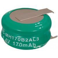 Pack de batterie NiMH 2.4 Volt, 170 mAh