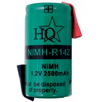 Pack accus NiMH 1,2V 2500mAh