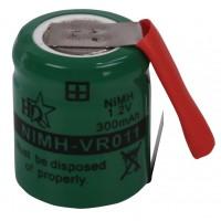 Pack d'accus NiMH 1.2 V 300 mAh