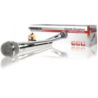 Dynamic microphone métal argenté