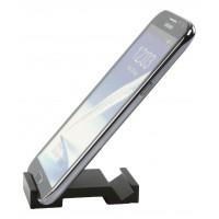 Support universel en aluminium noir pour smartphone