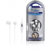 Écouteurs intra- auriculaires iPhone 1,20 m blanc