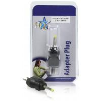 Branchez l'adaptateur de rechange 2.45x1.0mm