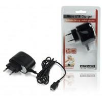Chargeur secteur avec connecteur micro USB